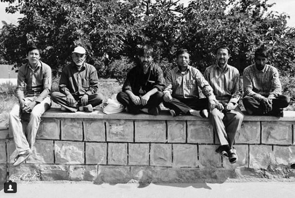کارگران افغانستانی. عکس از سجاد حیدری
