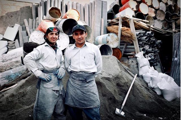 کارگران مهاجر افغانستانی. عکاس: سجاد حیدری