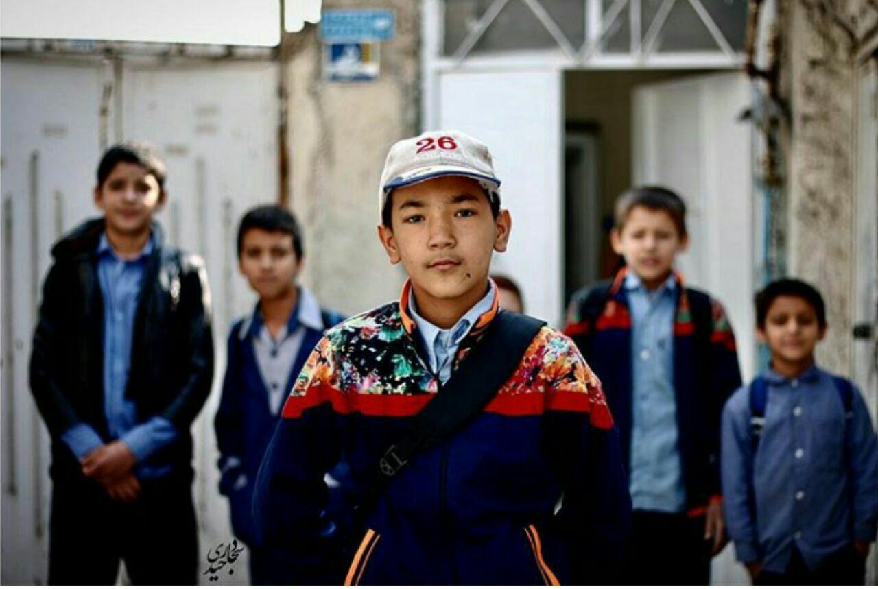 کودکان مهاجر. عکس از سجاد حیدری