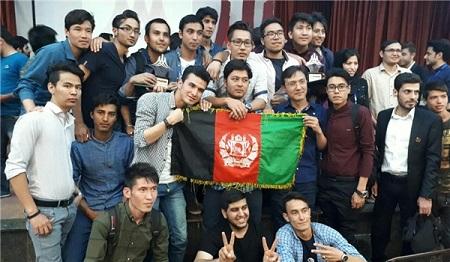دانشجویان افغانستانی شاغل به تحصیل در ایران